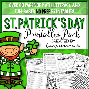 St. Patrick's Day Printables Pack