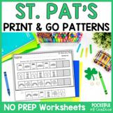 St. Patrick's Day Pattern Printables
