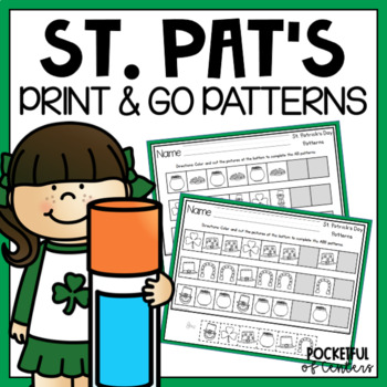 St. Patrick's Day Pattern Printables