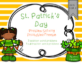St. Patrick's Day Problem Solving Freebie