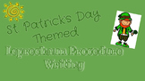 St. Patrick's Day Procedure Writing