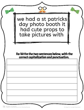 St. Patrick's Day Punctuation