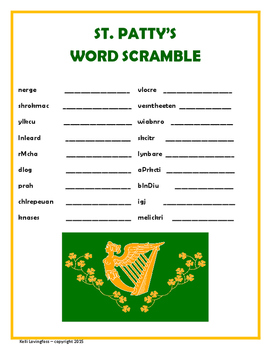 St. Patrick's Day Puzzle Pack