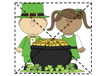 St. Patrick's Day Puzzle Pages