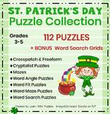 St. Patrick's Day Puzzles-37 UNIQUE Puzzles with 6 BONUS Grids