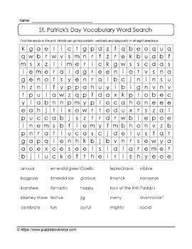 St. Patrick's Day Puzzles-74 UNIQUE Puzzles with 6 BONUS Grids