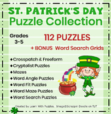 St. Patrick's Day Puzzles-74 UNIQUE Puzzles with 6 BONUS Grids