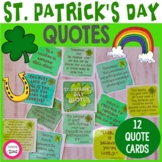 St. Patrick's Day Quotes - Love, Luck and Rainbow Inspirat