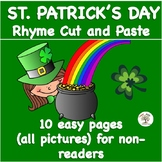 St. Patrick's Day RHYME CUT AND PASTE