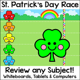 St. Patrick's Day Race Game - Digital Review Game for any Subject