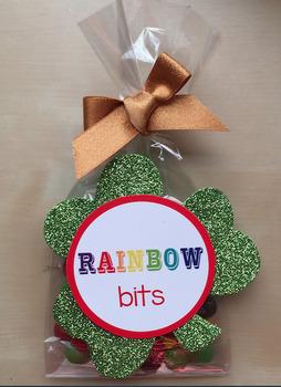 St. Patrick's Day Rainbow Bits Printout