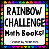 Rainbow Challenge Math Book!