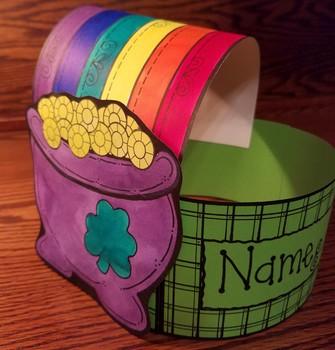 St. Patrick's Day Rainbow Hat