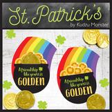 St. Patrick's Day Rainbow Pot of Gold
