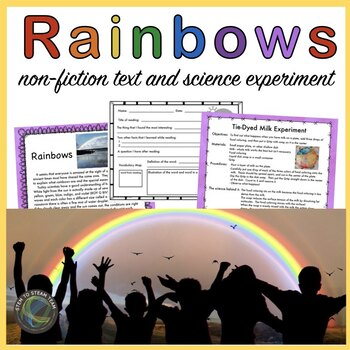 Rainbow Reading and Science Activity: Upper Elementary Grades