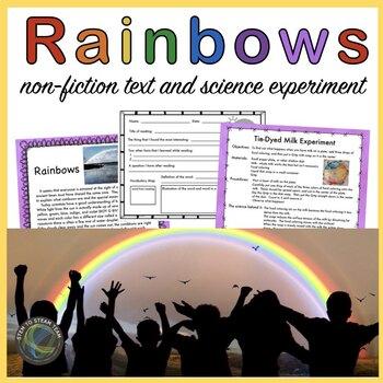 St. Patrick's Day: Rainbow Reading and Science Activity: U