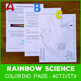 St Patrick's Day Rainbow Science Activity