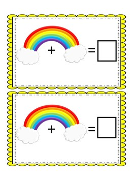 St. Patrick's Day Rainbow addition