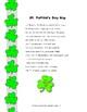 St. Patrick's Day Rap Poem