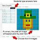 St. Patrick's Day - Ratios & Proportions - Google Sheets Pixel Art