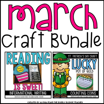 St. Patrick's Day & Read Across America CRAFT Bundle
