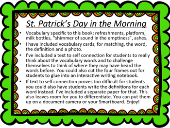 St. Patrick's Day Read Aloud St. Patrick's Day in the Morning