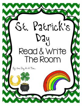 St. Patrick's Day Read & Write The Room