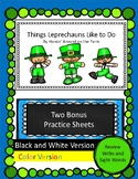 St. Patrick's Day Reader - Leprechauns