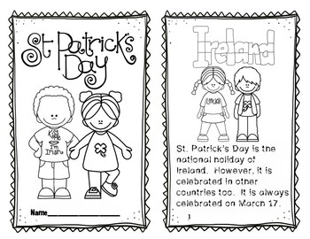 St. Patrick's Day Reader; Why do we celebrate St. Patrick's Day?