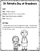 St. Patrick's Day Readers Theater (Leveled Parts)