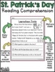 St. Patrick's Day Reading Comprehension