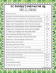 St. Patrick's Day Reading Comprehension -Leveled Texts & Reading Response Tasks