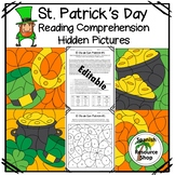 Spanish St. Patrick's Day Reading Comprehension Hidden Pictures