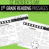 St Patricks Day Reading Comprehension Passages and Questions