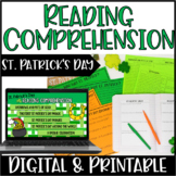 St. Patrick's Day Reading Comprehension Practice | Around