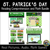 St. Patrick's Day Reading Comprehension and Math Bundle  