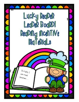 St. Patrick's Day Reading Incentive Plan
