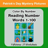 St. Patrick's Day: Reading Number Words 1-100 - Color By N