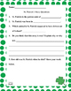 St. Patrick's Day Reading Sample FREE