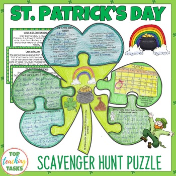 St. Patrick's Day Reading Comprehension Activity