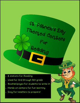 St. Patrick's Day Reading Centers