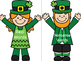 St. Patrick's Day Real and Nonsense Word Center
