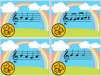 St Patrick's Day Recorder Game - Growing Bundle - Grab the Gold