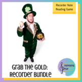 St Patrick's Day Recorder Game Bundle - Grab the Gold Recorders