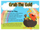 St Patrick's Day Recorder Game - Reading BAG on the Staff - Grab the Gold