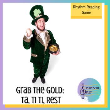 St Patrick's Day Music Game - Rhythms: Ta, Ti Ti, Rest - G