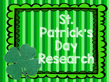 St. Patrick's Day Research