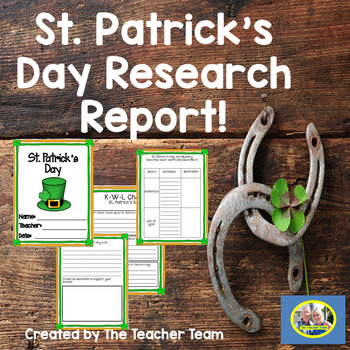 St. Patrick's Day  Research Report Resource