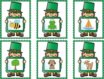 St. Patrick's Day Rhyme Matching