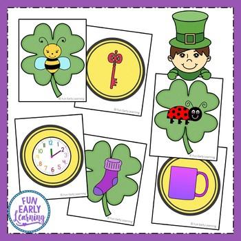 St. Patrick's Day Rhyming Card Sort